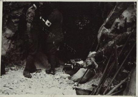 Soldato ferito.