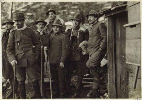 Il Comando Compagnia a Korgliack - quota 1630