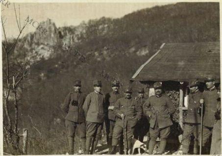Il Comando batteria antiaerea a Pleca - Spica (Monte Nero)