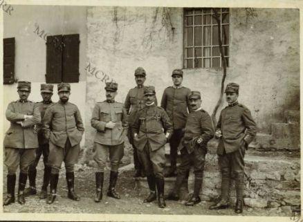 Ufficiali Comando 3a. Divisione - Generale Borgini