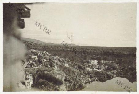Monfalcone. La palude del Lissert e le posizioni austriache