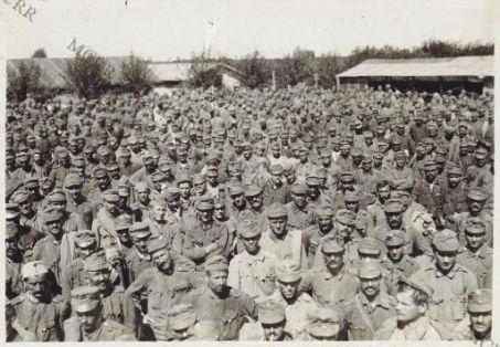 Bagnaria Arsa. Campo di concentramento prigionieri