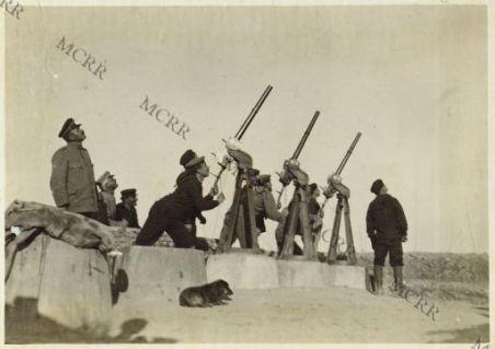 Grado - Cannoncini antiaerei