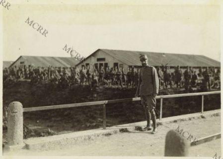 Palmanova - Baraccamenti per soldati a riposo