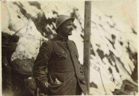 Col di Lana: il Maggiore Mezzetti del 1° battaglione Alpini che conquistò il Col di Lana