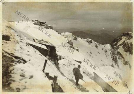 Monte Nero - Baraccamenti  e Cima Korliak