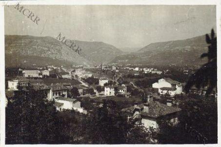 Gorizia. Borgo Carinzia (visto da Castagnevizza)