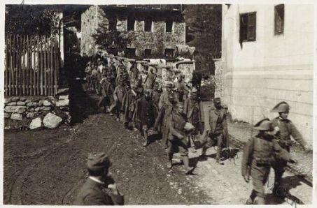 Prigionieri austriaci a Caoria