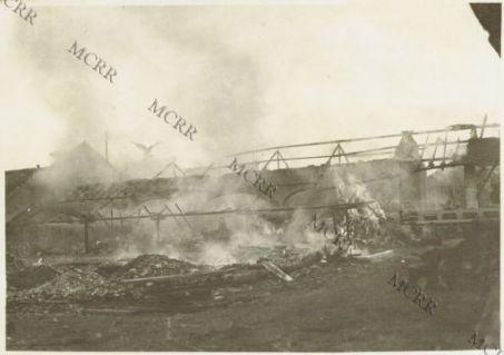Incendio del campo di aviazione di Aviano.