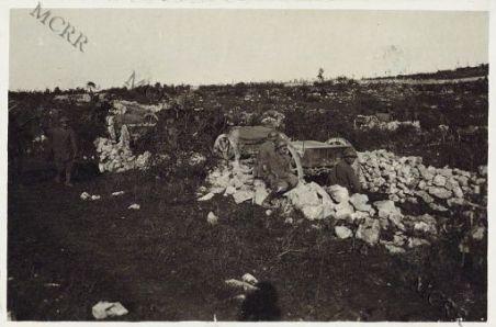 Sul Crni Krib. Colonna munizioni
