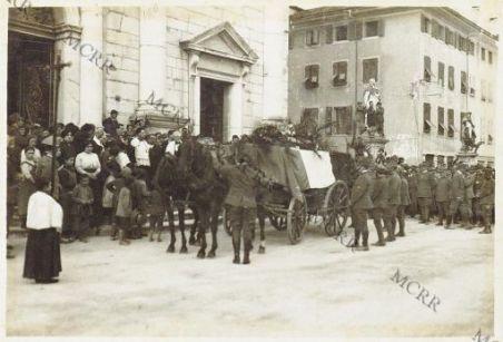 Palmanova - Funerali vittime bombe