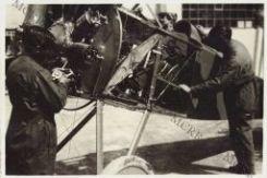 Officina per la riparazione degli aereoplani