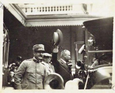 Udine - L'arrivo della Missione Russa