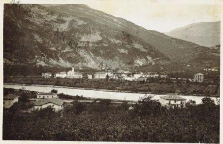 Val Lagarina. Santa Lucia l'Altissimo e l'Adige