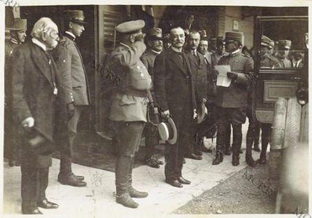 L'arrivo della Missione Russa al Quartier Generale Italiano