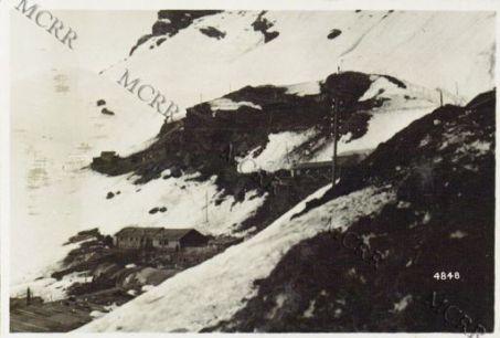Gall: Zona Tonale: baraccamenti alpini