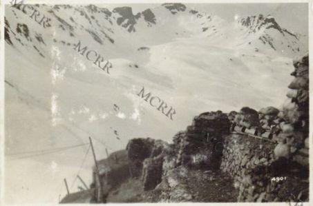 Gall. Vista di posizioni nemiche in zona Tonale