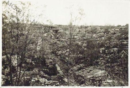 Doline conquistate al nemico tra Appacchiasella  e Loquizza. Ottobre 1916