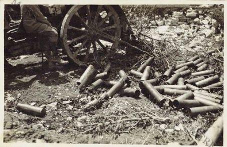 Asiago - Cannone da 75 in azione