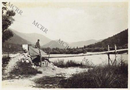 Volaria - Passerella sull'Isonzo