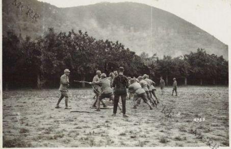 Istruzioni ed esercitazioni di sottufficiali italiani alla scuola inglese di Praglia
