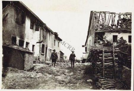 Cesuna (dopo lo sgombro degli austriaci)