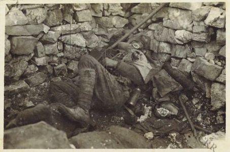 Trincee di Pecinka - 2 nov. 1916
