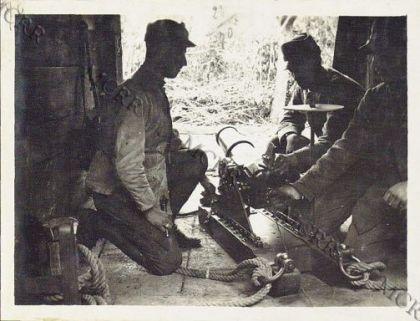 Mortaio da 87 mm. bronzo a S. Pietro