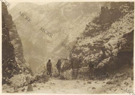 Sbarramenti alpini in Val Frenzela