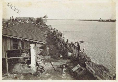 Monfalcone - Cantiere. Canale di Rosega
