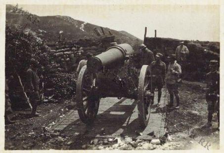 Monte Novegno - Obice da 210