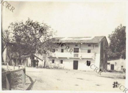 Album 54. Ospedaletto da campo austriaco abbandonato a Ravna.