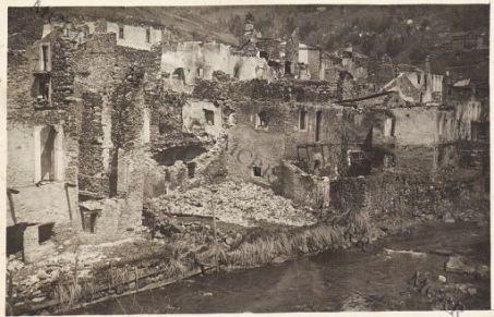 Gall. Rovine di Ponte di Legno