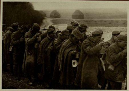 La soupe des prisonniers allemands