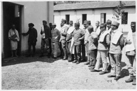 Prigionieri di varie nazionalità