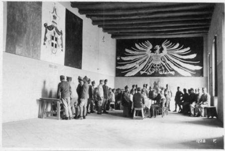 Campo concentramento prigionieri. Rep. ufficiali
