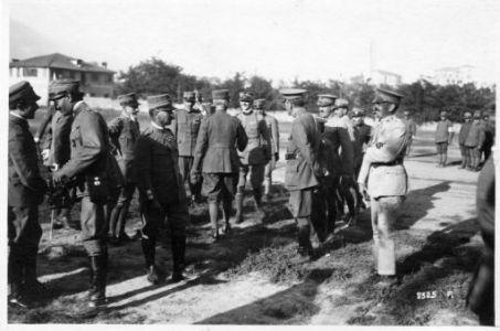 22 Agosto 1918. Festa al 91° Fanteria