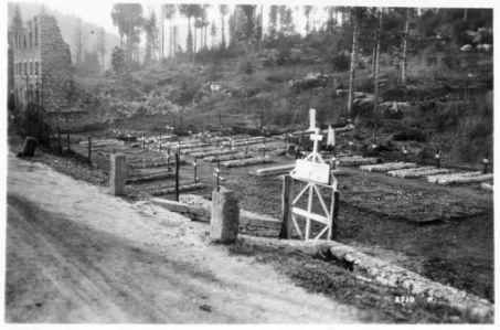 Un camposanto militare presso Tresche