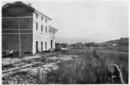 La stazione ferroviaria di Tresche Conca (m. 1097)
