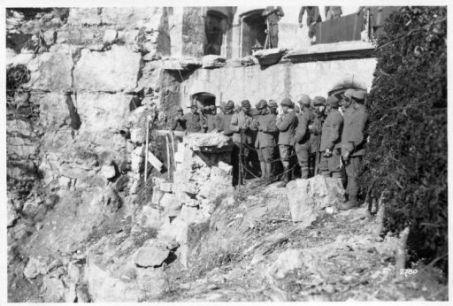 Alloggiamenti alle rovine del Forte Corbin