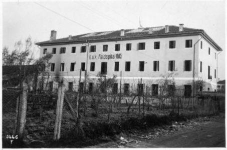 Gorgo al Monticano. Villa adattata per ospedale