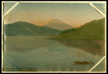Fuji from Hakone lake