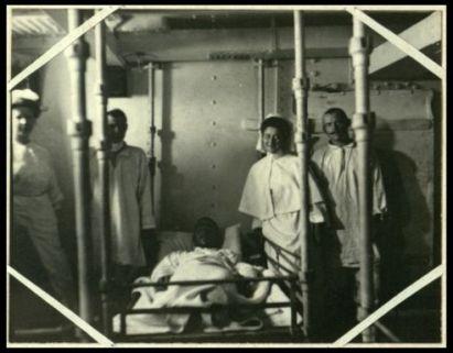 Sulla nave ospedale russa Kostroma dopo la battaglia di Tsushima