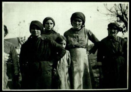 S. Lucia di Piave: tipi di contadini