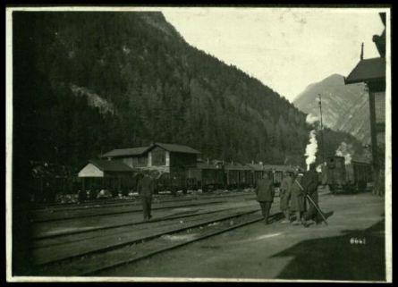 Alla stazione di Franzenfeste