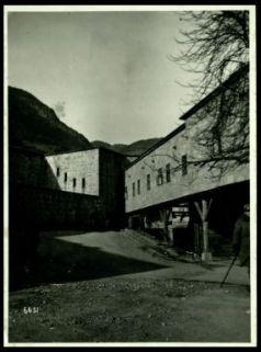 L'interno fortezza di Franzenfeste