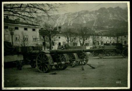 Grosso calibro abbandonato sul Monte Maggio