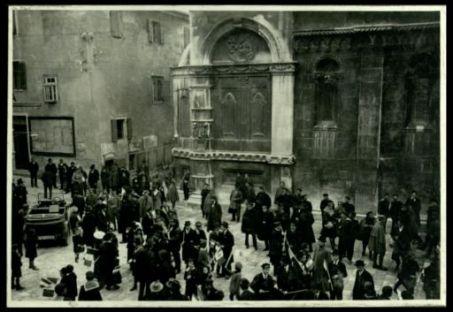 Sebenico: piazza della Cattedrale