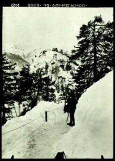 3053.10.Armee.Kmdo. Fotografia dell'esercito austro-ungarico