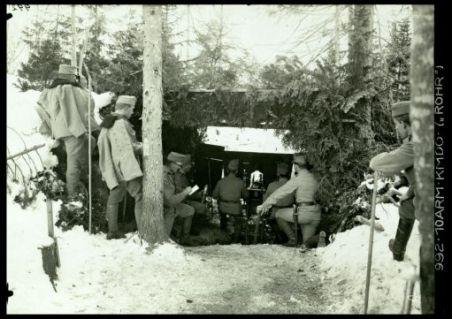 """992.10Arm.Kmdo.(""""Rohr""""). Fotografia dell'esercito Austro-Ungarico"""